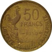 France, Guiraud, 50 Francs, 1950, Paris, VF(30-35), Aluminum-Bronze, KM:918.1
