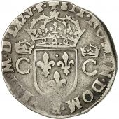 coin, France, Teston, 1575, Toulouse, VF(20-25), Silver, Sombart:4634