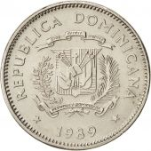 Dominican Republic, 5 Centavos, 1989, KM:69