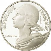 coin, France, 10 Centimes Piéfort, 1988, MS(65-70), Silver, Gadoury:46.P2
