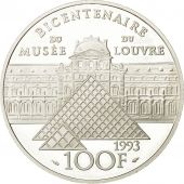 Monnaie, France, 100 Francs, 1993, Paris, SPL, Argent, KM:1017