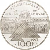 France, 100 Francs, 1993, Napoleon, Argent, Proof, KM:1022