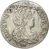 Monnaie, France, Louis XV, Livre dargent fin (20 sols), 1720, Paris,Gadoury 296