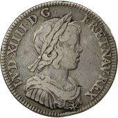 Monnaie, France, Louis XIV, 1/4 Ecu, 1644, Paris, TB+, Argent, KM:P61