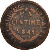 Haiti, Centime, 1841, Copper, KM:A21