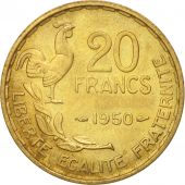 France, Guiraud, 20 Francs, 1950, Paris, SPL, KM:916.1