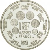 Coin, France, 6.55957 Francs, 2001, MS(64), Silver, KM:1265.2, Gadoury:C298