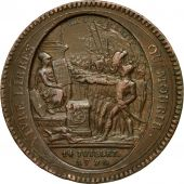 Monnaie, France, 5 Sols, 1792, TB+, Bronze, KM:Tn31, Brandon:223B