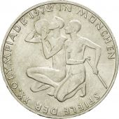 Coin, GERMANY - FEDERAL REPUBLIC, 10 Mark, 1972, Hambourg, AU(55-58), Silver
