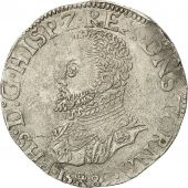 Coin, Spanish Netherlands, TOURNAI, Philip II, Philippe II, FILIPSDAALDER, 1589