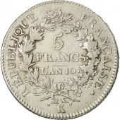 Coin, France, Union et Force, 5 Francs, 1801, Bordeaux, VF(30-35), KM 639.5