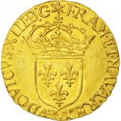Coin, France, Louis XIII, Ecu dor, 1634, Rouen, AU(55-58), Gold, KM:51