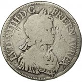 Coin, France, LOUIS XIV / LOUIS XIII, Ecu, Undated (1643),Paris,Ciani 1944
