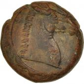 Carthage, Zeugitana, Bronze Unit, 4th century BC, Sear 6531
