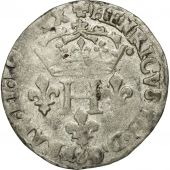 Coin, France, Henri III, Double Sol Parisis, 1579, Toulouse, VF(30-35), Billon