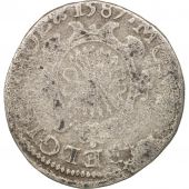 Pays-Bas espagnols, FRIESLAND, Philippe II, 1/20 Real, 1587, Argent