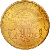 United States, Liberty Head, $20, Double Eagle, 1898-S, MS64+, KM:74.3
