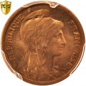 France, Dupuis, Centime, 1919, Paris, PCGS MS67RD, KM:840
