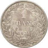 France, Louis-Philippe, Franc, 1831, Lille, VF(30-35), Silver, KM:742.12