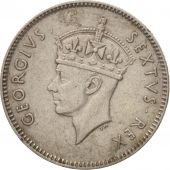 EAST AFRICA, George VI, 50 Cents, 1952, TTB, Copper-nickel, KM:30