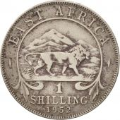 EAST AFRICA, George VI, Shilling, 1952, VF(20-25), Copper-nickel, KM:31
