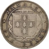 Jamaica, Victoria, Penny, 1888, Heaton, TB+, Copper-nickel, KM:17