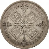 Great Britain, George V, Florin, Two Shillings, 1928, VF(30-35), Silver, KM:834
