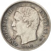 France, Napoleon III, 50 Centimes, 1862, Paris, MS(60-62), KM:794.1