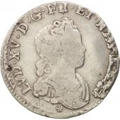 France, Louis XV, 1/10 Écu Vertugadin, 1716, Bordeaux, TB, KM:418.9