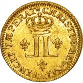 France, Louis XV, Louis dor aux 2 L, 1721, Paris, MS(60-62), Gold, KM:461.1