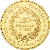 France, Statère des Parisii, 100 Francs, 2000, Paris, FDC, Or, KM:1232