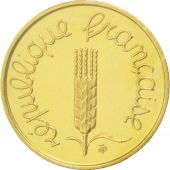 France, Centime, 1981, Piefort, MS(65-70), Gold, KM:P685, Gadoury:4.P3