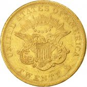États-Unis, Liberty Head, $20, Double Eagle, 1853, Philadelphia, KM:74.1