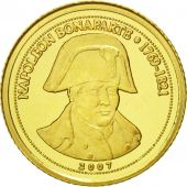 Congo Republic, Napoléon Bonaparte, 1500 Francs CFA, 2007, SPL, Or