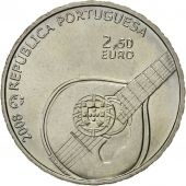 Portugal, 2-1/2 Euro, Patrimoine Culturel, 2008, MS(63), Copper-nickel, KM:783