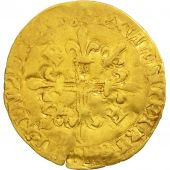 France, François Ier, Ecu dor, Angers, VF(30-35), Gold, Duplessy:775