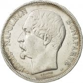 France, Napoléon III, 5 Francs, 1852, J.J BARRE, Paris, EF(40-45), KM:773.1