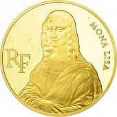 France, Mona Lisa, 500 Francs, 1993, Paris, SPL, Or, KM:1024