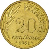France, Essai de Baron, 20 Centimes, 1961, Paris, SPL, Cupro-nickel Aluminium