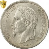 France, Napoleon III, 2 Francs, 1866, Paris, PCGS, MS64, KM:807.1
