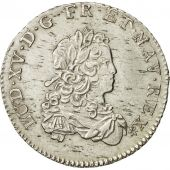 France, Louis XV, 1/3 Écu de France, 1721, Caen, SUP+, Argent, KM:457.5