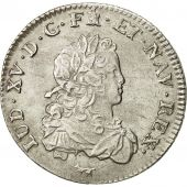 France, Louis XV, 1/3 Écu de France, 1720, Paris, AU(55-58), Silver, KM:457.1