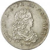 France, Louis XV, 1/3 Écu de France, 1720, Paris, AU(50-53), Silver, KM:457.1
