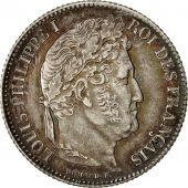 France, Louis-Philippe, Franc, 1835, Paris, MS(60-62), Silver, KM:748.1