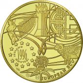 Ireland, Medal, Ecu Europa, 1996, MS(65-70), Gold
