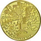 Luxembourg, Medal, Ecu Europa, 1997, MS(65-70), Gold