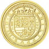 Espagne, Medal, Reproduction Philippe III, FDC, Or