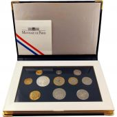 Monnaie, France, Proof Set Franc, 1997, Paris, 5 cts 3 plis