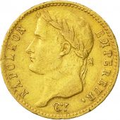 Coin, France, Napoléon I, 20 Francs, 1809, Bordeaux, EF(40-45), Gold, KM:695.4