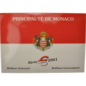 Monaco, Set, Prince Rainier III, 2001, MS(65-70)